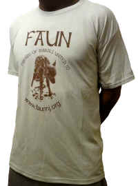 FAUN tshirt forest green front